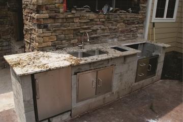 granite outdoor kitchen cambridge outdoor kitchen delicatus granite countertops natural marble